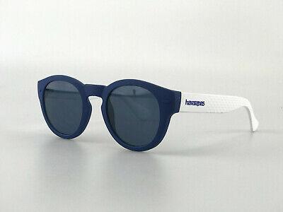 Havaianas Sunglasses mod. Trancoso QMB9A Navy Blue White Rubber Key Hole (Holes Sunglasses)