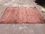 Brown shagpile rug Mount Pleasant Melville Area Preview