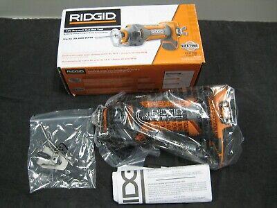 New In Box Ridgid 18-volt Drywall Cut-out Tool R84730b 28000 Rpm