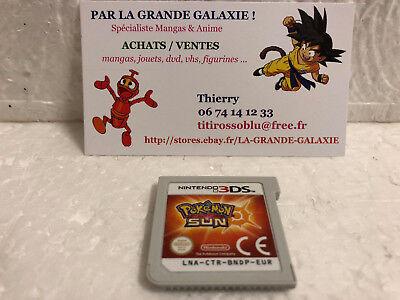 Jeu Vidéo Nintendo 3DS/2DS Pokemon Soleil VF XL Nintendo Game Freak RPG en loose