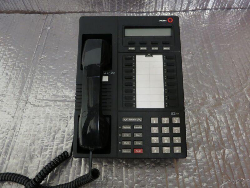 Lucent, Avaya, AT&T MLX-16DP Black Phone 16-Line (Lot of 5)
