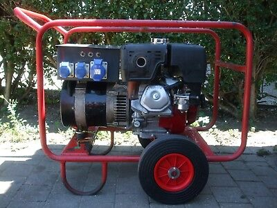 Harrington 6Kva Honda GX390 13HP Petrol Generator