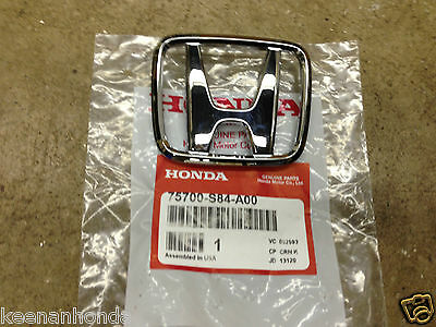 Genuine OEM Honda Accord 4Dr Sedan Front Grill H Emblem 1998-2000
