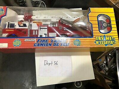 Remote control fire truck Real Tough RARE new in box 06520 Full Function ()