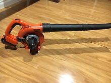 Black and decker cordless blower with battery and charger - near new Southbank Melbourne City Preview