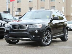 2015 BMW X3 xDrive28i Turbocharged 2.0L AWD