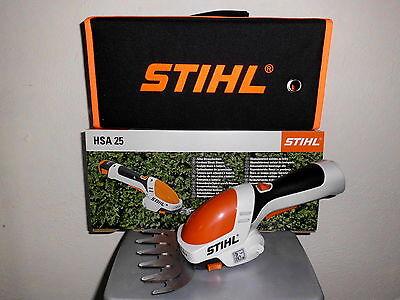 STIHL Akku-Strauchschere HSA 25 Heckenschere Hecke schneiden NEU