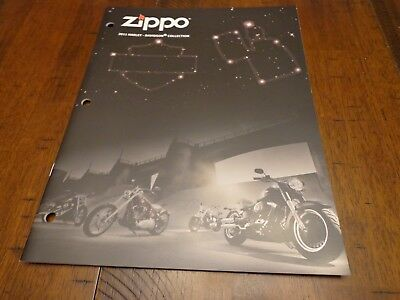 HARLEY DAVIDSON ZIPPO LIGHTER CATALOG 2011 UNUSED