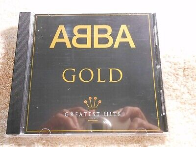 ABBA - Gold Greatest Hits  (CD, 1992) **GEM MINT** FREE SHIPPING!!