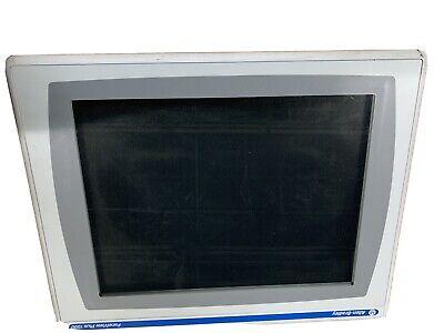 Allen Bradley Panelview Plus 1500 2711p-rdt15c C Display Only Great Screen