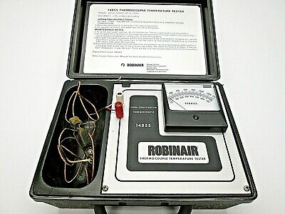 Robinair 14855 Thermocouple Temperature Tester Free Shipping P26