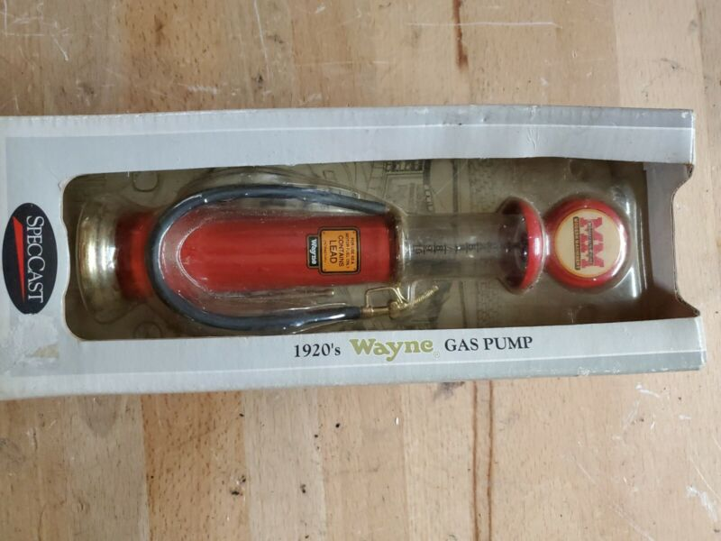 Wayne 1920 Gas Pump Replica Minneapolis Moline Modern Machinery SpecCast