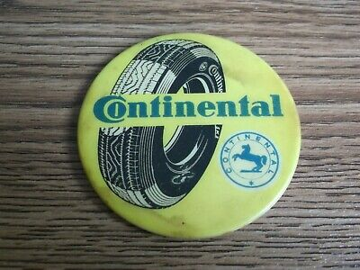"""Rare vintage """"CONTINENTAL"""" Tyre advertising pocket mirror of 60's.."""