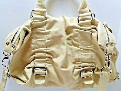 Innue Genuine Leather Yellow Slouchy Handbag Convertible Italy Italian