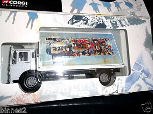 THE-BEATLES-CORGI-AEC-FLATBED-LORRY-DIE-CAST-MODEL-BRAND-NEW-BOXED-MINT-FAB
