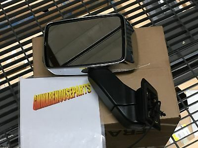 2006-2007 HUMMER H3 PASSENGER SIDE ELECTRIC MIRROR RIGHT BLACK NEW GM # 15884835