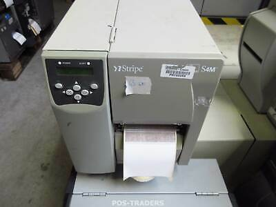 Zebra S4M USB Network 203DPI Thermal Label Printer S4M00-200E-0200D - 65 INCH