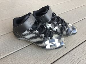 Under Armour CN1 Football Cleats Size 8