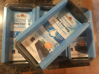 Burpee Seed Starting Trays Lot of 4! New! Homestead/Survival/Self Sufficiency!