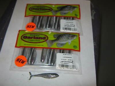 "2/"" Black//Chartreuse Silver 12//Bag 2SS0303-12 Bobby Garland Slab Slay/'R"