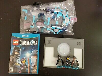 LEGO MOVIE Dimensions: Starter Pack 71174 (Nintendo Wii U, 2015) complete