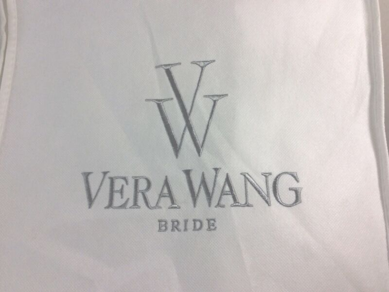 Vera Wang Bride Wedding Dress Garment Cover Storage Dust Bag 67x24x9x19""