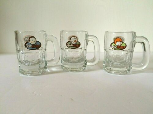 A&W Mini Mug Buck Glass Grandpa Teen Baby Burger Special Edition Collectible