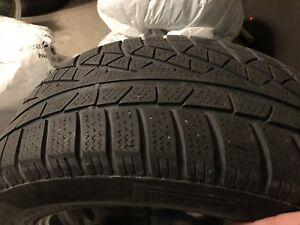 Pirelli 225 55 16 Winter Tires With Rims