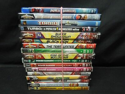 Power Rangers / Mega Force DVD Lot  *PERFECT FOR CHRISTMAS*