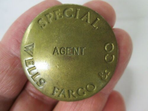 Vintage, Special Wells Fargo & Co. Agent, L. A. Stamp & Staty. Co.