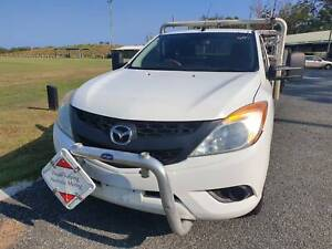 2012 Mazda BT-50 Cab Chasis - Low Kms - Manual - Diesel - Driveaway Birkdale Redland Area Preview