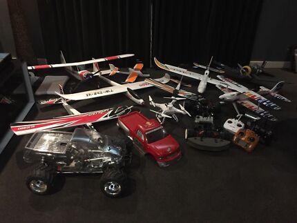 RC planes / cars