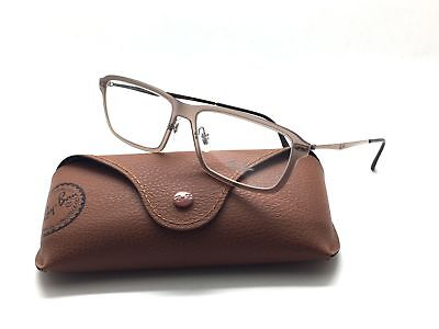 Ray Ban RB 7038 5457 LightRay Matte Light Brown 53mm (Ray Ban Prescription Lenses)