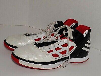 Adidas Adizero Derrick Rose 2 All Flights Cancelled Home White Men Size 14 _c10