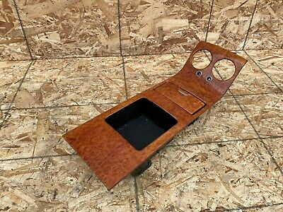 BENTLEY CONTINENTAL GT GTC (04-10) REAR CENTER CONSOLE WOOD TRIM CUP HOLDER OEM
