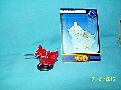WotC Star Wars Miniatures Royal Guard, RotS 60/60, Imperial, Uncommon