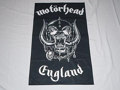 MOTORHEAD ENGLAND TEXTILE FLAG