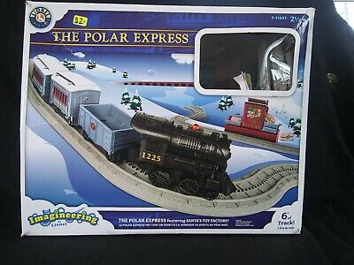 Polar Express Imagineering By Lionel ~ Christmas Toy Train Set ~ C1