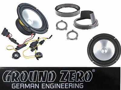 Ground Zero GZCS 165 VW Seat Skoda Lautsprecher System 2 wege Audio...