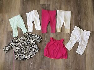 Baby girl lot cloth and shoes