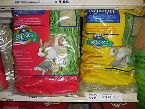 ALFALFA KING - For guinea pigs and rabbits Malaga Swan Area Preview