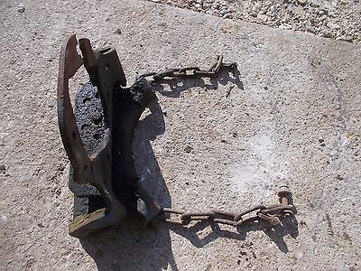 Ford 960 Tractor Original Drawbar Support W 3pt Hitch Sway Chain Chains