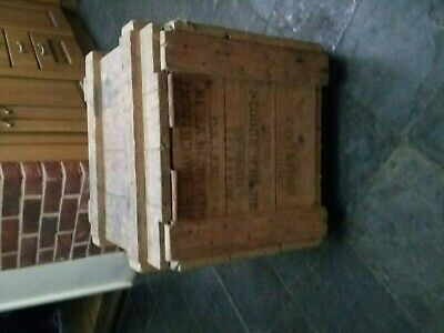 Us army Vintage wooden chest