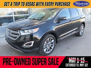 2016 Ford Edge Titanium PRE-OWNED SUPER SALE ON NOW!