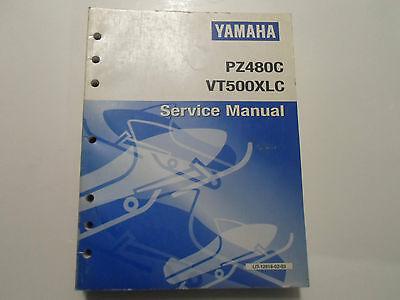 1999 Yamaha PZ480C VT500XLC Snowmobile Service Repair Manual OEM FACTORY