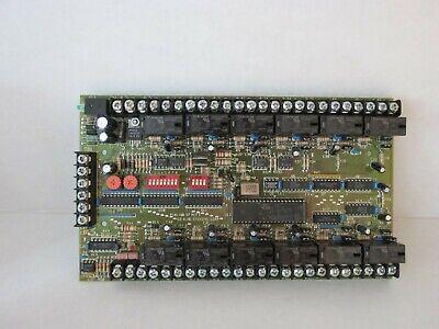 Edwards Est Uio-12rzmp Monitor Control Module Ui0-12rzmp Fire Alarm