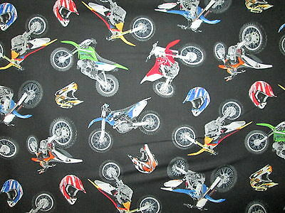 Used, MOTOCROSS MOTORCYCLE HELMET DIRT BIKE RACING BLACK COTTON FABRIC 16 1/2 IN SCRAP for sale  Shipping to India