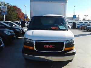 2017 GMC Savana Commercial Cube Van 14ft Box