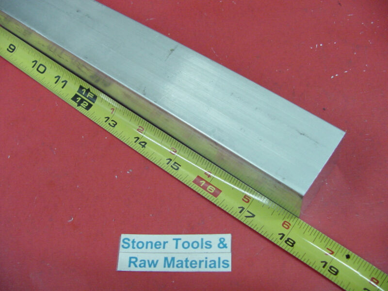 "1-1/2"" X 1-1/2"" ALUMINUM SQUARE 6061 T6511 SOLID FLAT BAR 18"" long 1.50""x 18"""