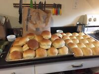 Fresh homemade buns